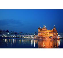 The Golden Temple of Amritsar Photographic Print