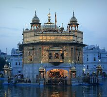 Amritsar's Golden Temple by Jamie Mitchell