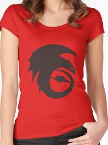 RotBTD - Dragons Women's Fitted Scoop T-Shirt
