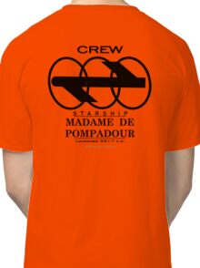 SS Madame De Pompadour - Crew Wear Classic T-Shirt
