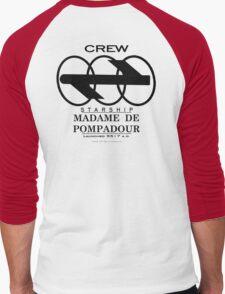 SS Madame De Pompadour - Crew Wear Men's Baseball ¾ T-Shirt