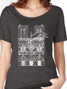 Humpback of Notre Dame Sketch Women's Relaxed Fit T-Shirt