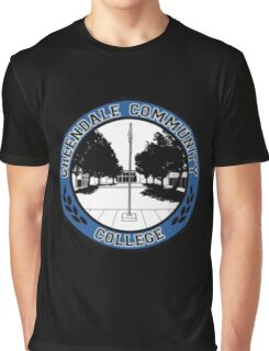 Greendale Community College Logo Graphic T-Shirt