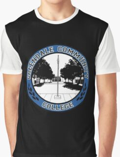 Greendale Community College Logo Graphic T-Shirt