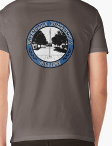 Greendale Community College Logo Mens V-Neck T-Shirt