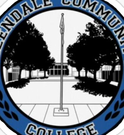 Greendale Community College Logo Sticker
