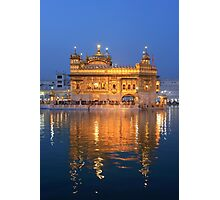 Amritsar Sikh Temple Photographic Print