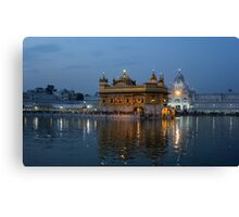 The Heart of Sikhism Canvas Print