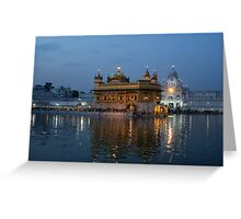 The Heart of Sikhism Greeting Card
