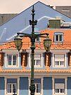lisbon street lamps. Praça Duque da Terceira. by terezadelpilar ~ art & architecture