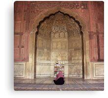 Silent Prayer Canvas Print