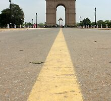 India Gate by Jamie Mitchell