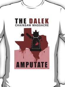 The Dalek Chainsaw Massacre T-Shirt