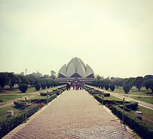 Lotus Temple by Jamie Mitchell