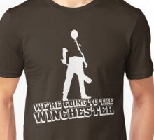 We're Going To The Winchester (White Print) Unisex T-Shirt