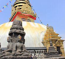 Swayambhunath Stupa by Jamie Mitchell