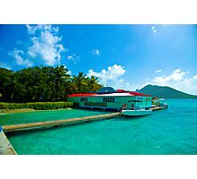 Virgin Islands Ocean Market Photographic Print
