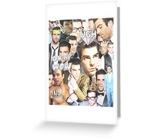 zachary quinto collage Greeting Card