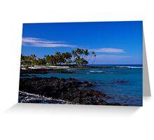 Hawaii Ocean View - Gilligan's Island Greeting Card