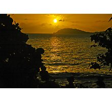 Hawaii Sunset Photographic Print