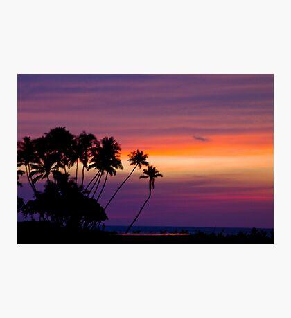 Hawaii Sunset Photographic Print