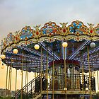 Paris Carrousel at Sunset by Heidi Hermes