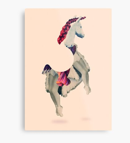 Horse Power Metal Print