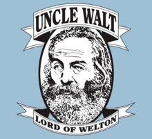 Uncle Walt (B&W Print) by GritFX