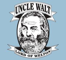 Uncle Walt (B&W Print) by GritFX