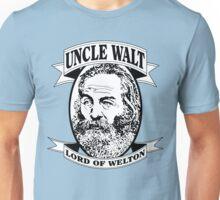 Uncle Walt (B&W Print) Unisex T-Shirt