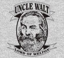 Uncle Walt (Black Print) by GritFX