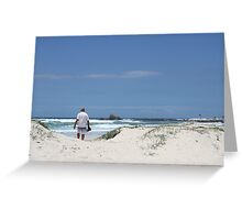 A Blue Day & Not Feeling Blue Greeting Card