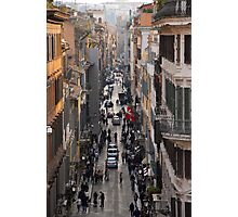 Italy's Business District Photographic Print