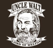 Uncle Walt (White Print) by GritFX