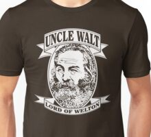 Uncle Walt (White Print) Unisex T-Shirt