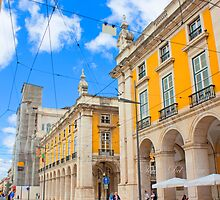 Praça do Comércio. Lisboa by terezadelpilar~ art & architecture