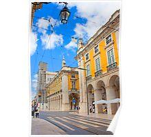 Praça do Comércio. Lisboa Poster
