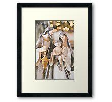 A Savior is born Framed Print