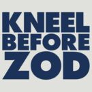 Kneel Before Zod (Blue Print) by GritFX