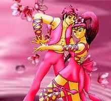 Peach Blossom Spirits by LanDiMonk