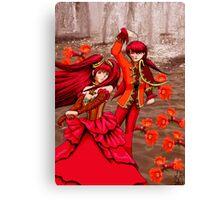 Pomegranate Blossom Spirits Canvas Print