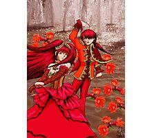 Pomegranate Blossom Spirits Photographic Print