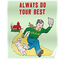 Classroom Poster Do Your Best Poster