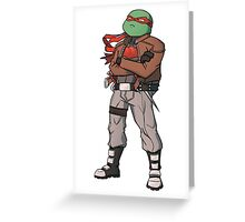 Raph - Red Hood Greeting Card