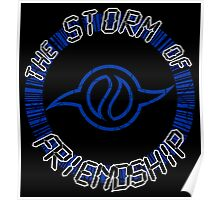 The Storm Of Friendship Poster