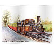 Blaenau-Ffestiniog Railway, North Wales Poster