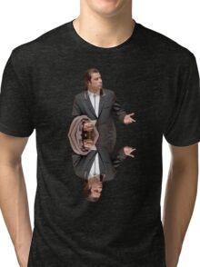 Confused Travolta Tri-blend T-Shirt