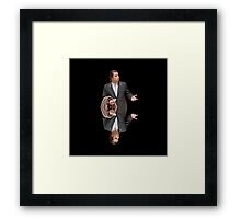 Confused Travolta Framed Print