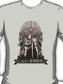 Cage of Thrones - Starring Nicolas Cage T-Shirt