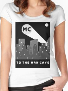Man Cave 2 Women's Fitted Scoop T-Shirt